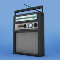 radio old 1950