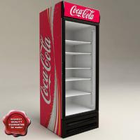 Refrigerator Coca Cola