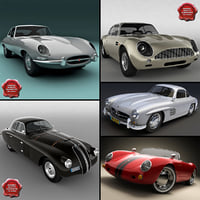 Retro Cars Collection V9