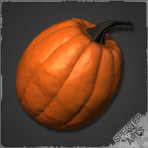 pumpkin gourd squash 3ds