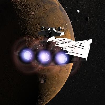 free imperial star destroyer 3d model