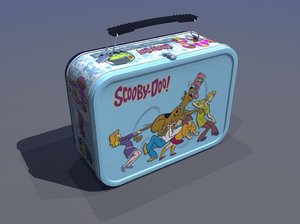 classic lunch box 3d model