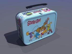 classic lunch box 3d model