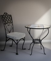Cafe Chair and Table