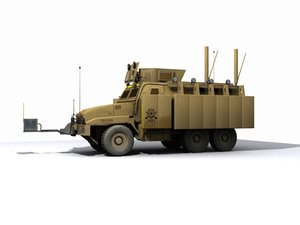 caimen military truck 3d 3ds