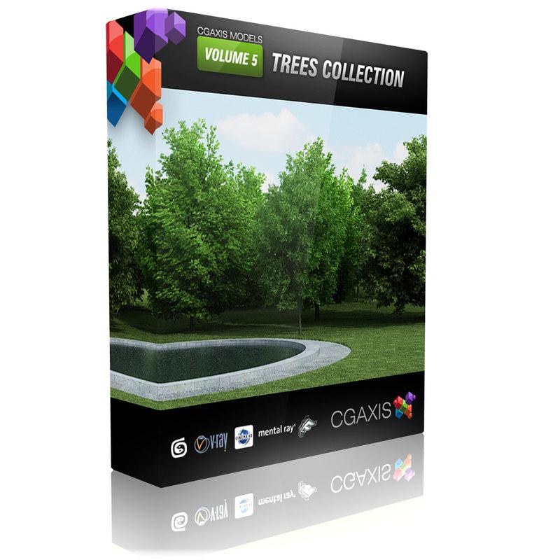 volume 5 tree 3d model