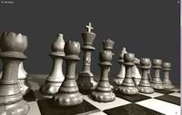 chess games 3d blend