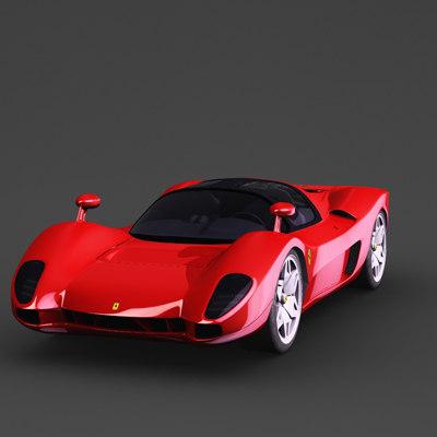 p6 concept car obj