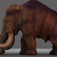 Mammoth textured