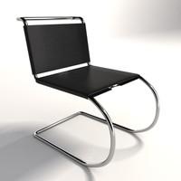 Mies Van Der Rohe MR Armless Chair