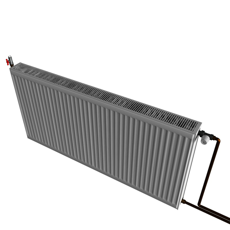 3d model radiator air-outlet valve