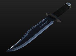 blade knife games 3d model