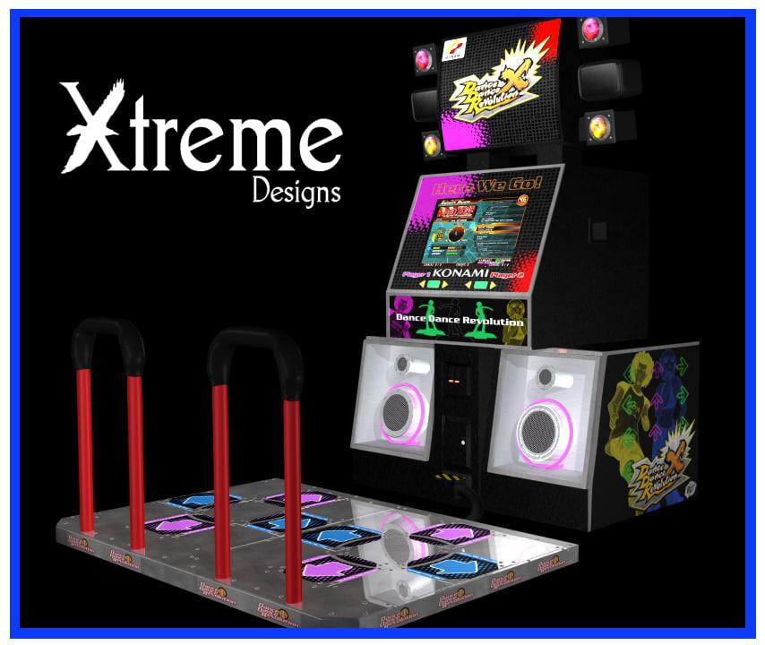 lwo dance arcade machine