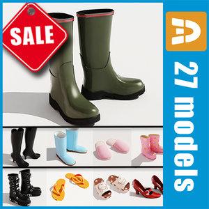 shoes fashion 3d model