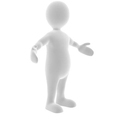 generic character 3d max