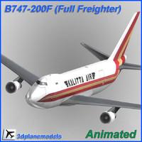 B747-200F Kalitta Air