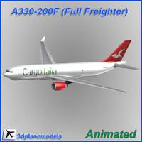 airbus cargo 3d model