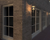 lighting doors 3d model