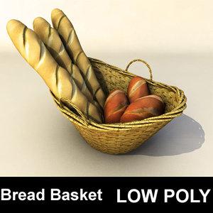 3d bread basket