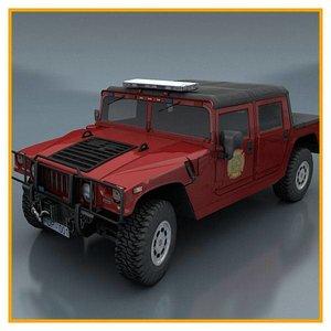 department vehicle 3d model