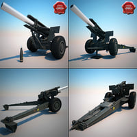M114A1 155 mm Howitzer Collection