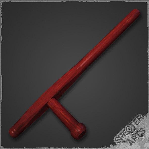 tonfa baton 3d model