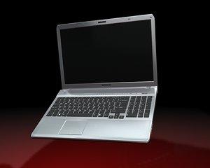 sony vaio laptop 3d max