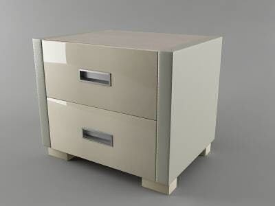 stand nightstand 3d model