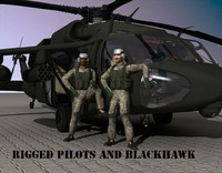 uh 60 blackhawk 3d model