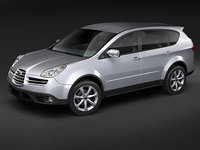 subaru b9 tribeca suv 3d model