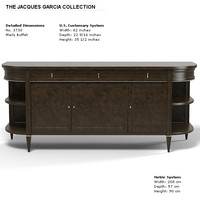 Baker Marly Buffet sideboard 3730 Jacques Garcia