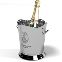 champagne louise roederer 3d model