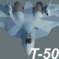 Russian Air Force Sukhoi T-50 PAK FA (mass production version)