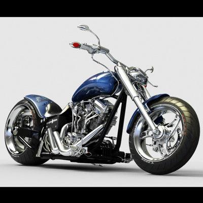 empire bike 2 3d model