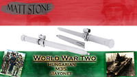 free wwii hungarian model-35 bayonet 3d model
