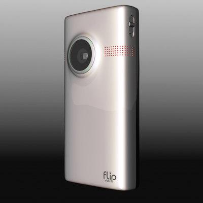 flip minohd mino 3d model