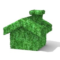 house bush 3d 3ds
