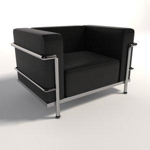 maya le corbusier lc3 armchair
