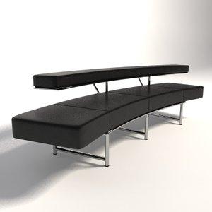 eileen gray monte carlo 3d model