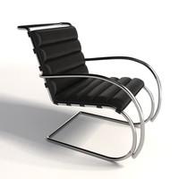 Mies Van Der Rohe MR Lounge Chair