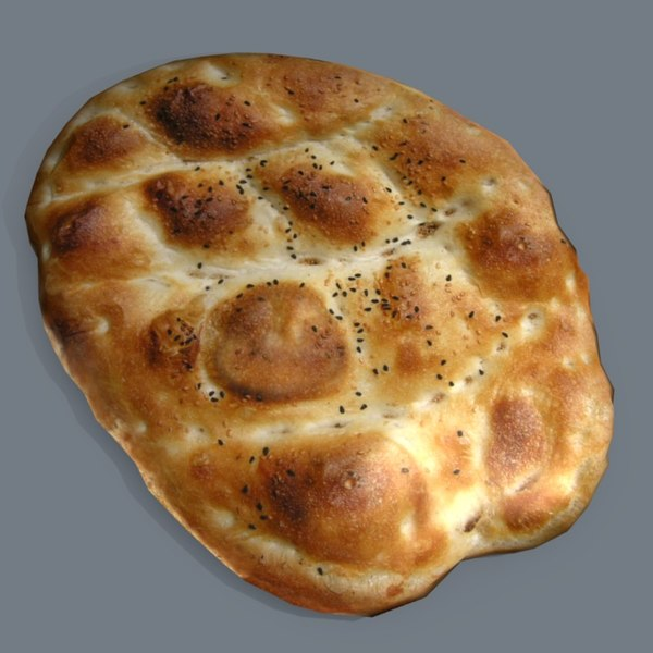 bread pide obj