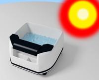 bath foot massage 3d model