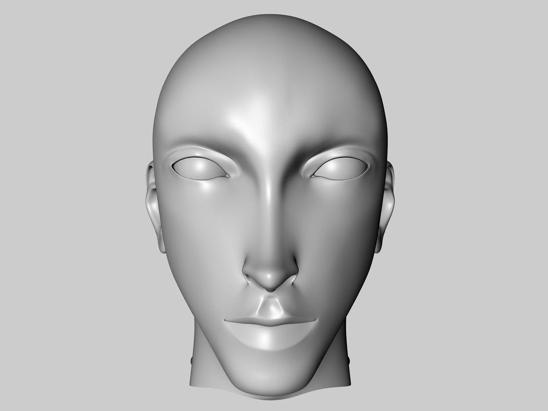beautiful male 3d model