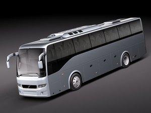 9700 bus coach 3d model