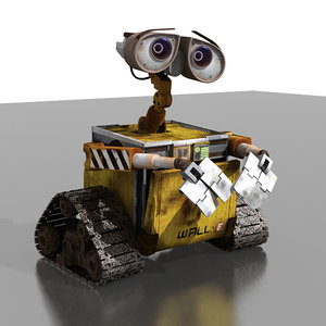 robot pixar animator 3d model