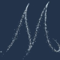 Waterjet font