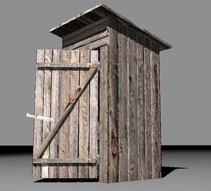 wc toilet 3d model