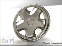 wheel 4 3d model