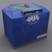 paper recycling 3d model