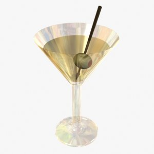 martini 3d model